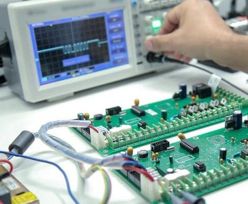 testowanie wyprodukowanej elektroniki